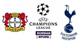 Bayer 04 Leverkusen - tottenham hotspur