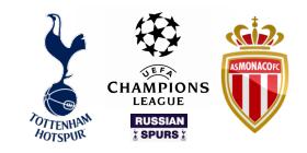 Tottenham Hotspur - Monaco