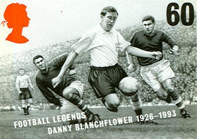 Danny Blanchflower Tottenham Hotspur