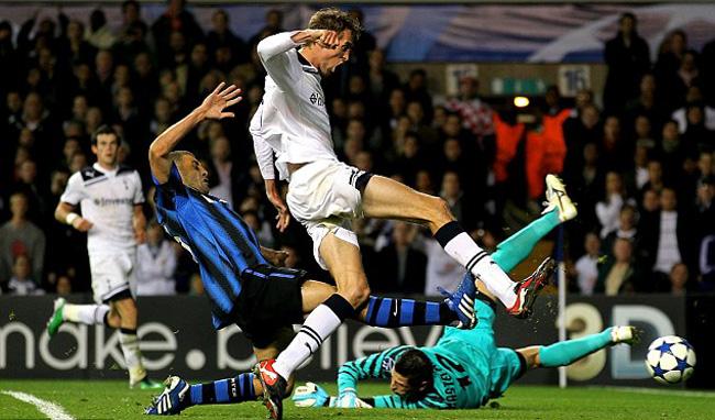 Тоттенхэм  Хотспур - Интер Милан 3:1 Питер Крауч