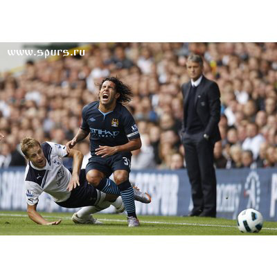 Тоттенхэм  Хотспур - Манчестер Сити 0:0 Майкл Доусон Карлос Тевес