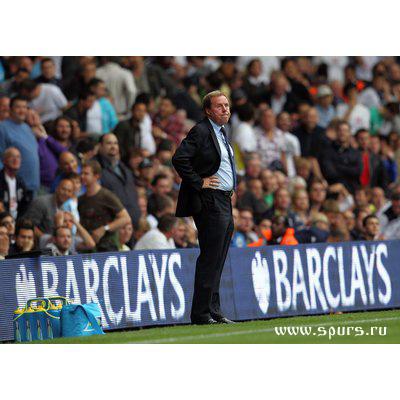 Харри Реднапп Тоттенхэм - Манчестер Сити 0-0