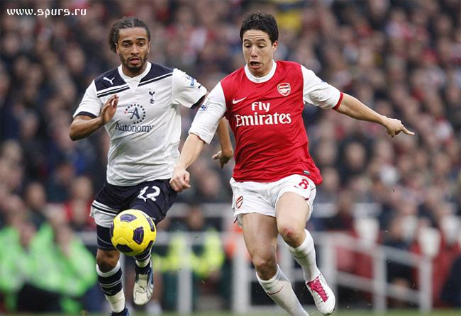«Арсенал» - «Тоттенхэм Хотспур» 2:3 Бенуа Ассу-Экотто и Самир Насри