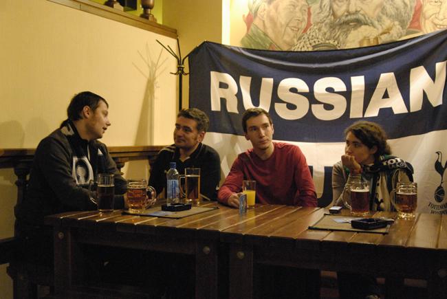 Русские Шпоры сайт Тоттенхэм Хотспур