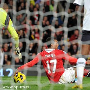 Манчестер Юнайтед - Тоттенхэм Хотспур 2-0 Нани