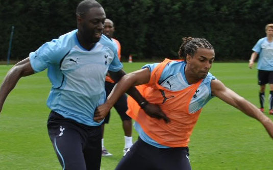Tottenham Hotspur training