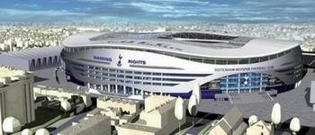 Уайт Харт Лэйн стадион Тоттенхэм Хотспур