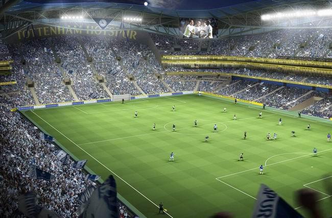 """""""Тоттенхэм Хотспур"""" представил свой план развития ФРР в поддержку проекта реструктуризации стадиона Уайт Харт Лэйн"""