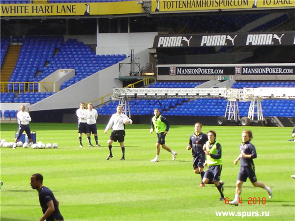 Tottenham Hotspur on White Hart Lane