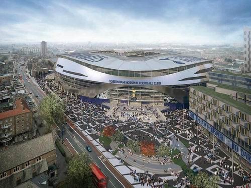 новый стадион футбольного клуба Тоттенхэм Хотспур
