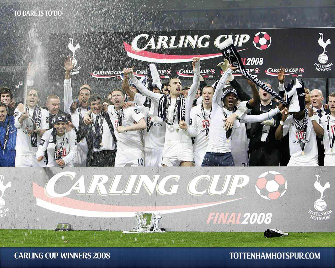 Тоттенхэм Хотспур Кубок Лиги Carling Cup 2008 Челси Уэмбли Хуанде Рамос
