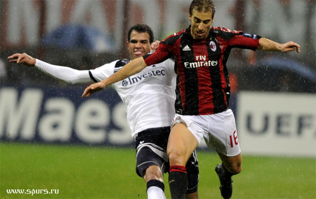 Бразилец Сандро дебютировал в Милане за Тоттенхэм в еврокубках