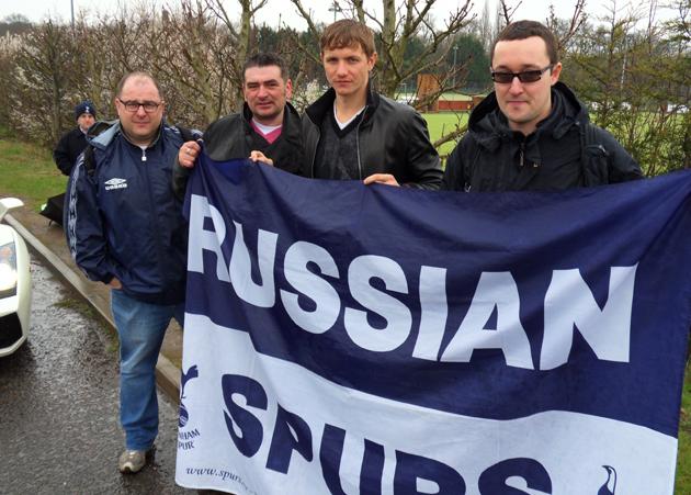 Роман Павлюченко и Russian Spurs
