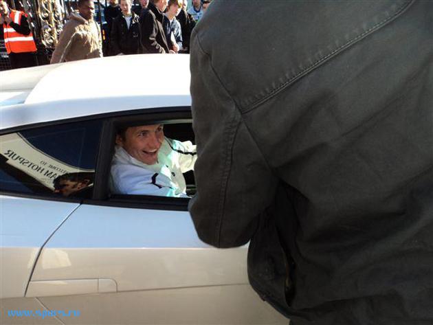 Роман Павлюченко после игры с Вест Хэмом