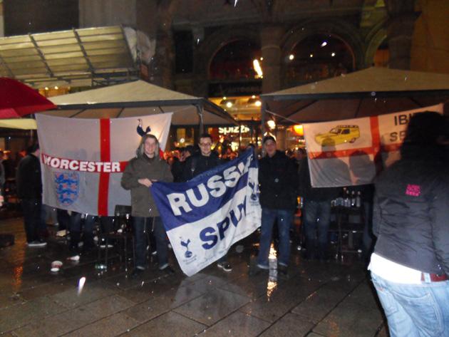 Дождь в Милане не испортил настроения Russian Spurs