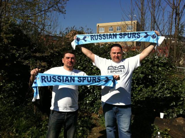 Русские Шпоры в Лондоне