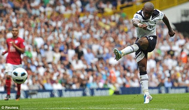 Джермейн Дефо забил свой сотый гол в АПЛ в игре Тоттенхэм Хостпур – Вест Бромвич 2:2