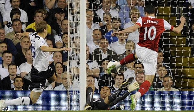 Майкл Доусон вряд ли сможет занести первый тайм матча Тоттенхэм – Арсенал 3:3 себе в актив