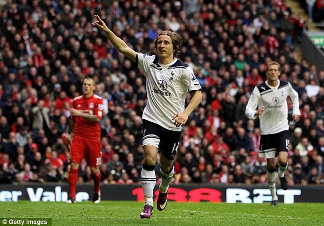 Лука Модрич установил окончательный счет в матче, забив с пенальти : Ливерпуль - Тоттенхэм Хотспур 0:2