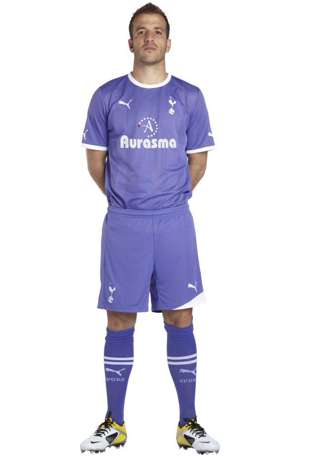 tottenham hotspur  new kit 2011/12 away