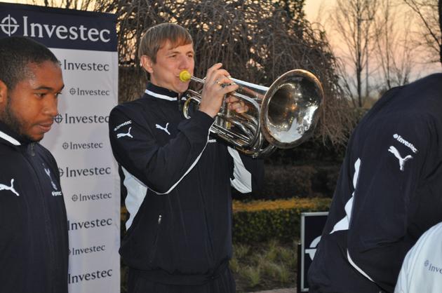 Роман Павлюченко - духовые:  «Тоттенхэм Хотспур» и «Alexander Field Band» в ЮАР