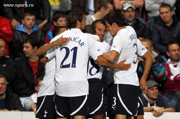 Хартс - Тоттенхэм Хотспур 0:5 Лига Европы 2011/12