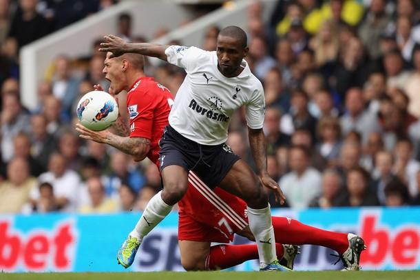 Джермейн Дефо также отметился голом во встрече Тоттенхэм - Ливерпуль 4:0