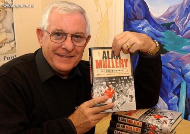 Алан Маллери на презентации собственной автобиографии в марте 2011-го года