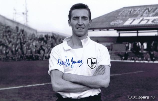 """Валлийский вингер """"Тоттенхэм Хотспур"""" 60-х Клифф Джонс пришёл в Шпоры именно из """"Суонси Сити"""", где успел сыграть уже 168 матчей"""
