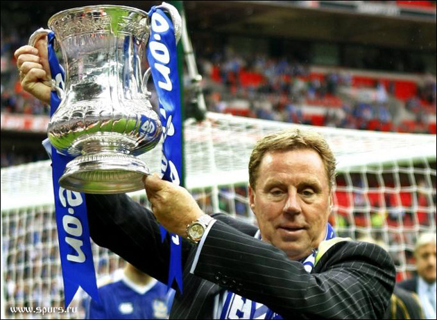 Харри Реднапп выиграл Кубок Англии в 2008-м году