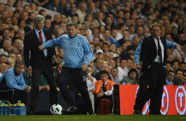 """Клайв Аллен - тренер и бывший игрок """"Тоттенхэм Хотспур"""", успевший поиграть и  за """"Манчестер Сити"""""""