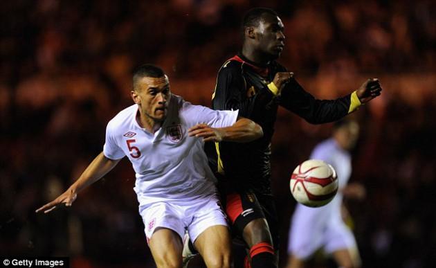 Стивен Колкер забил первый гол за молодёжную сборную Англии