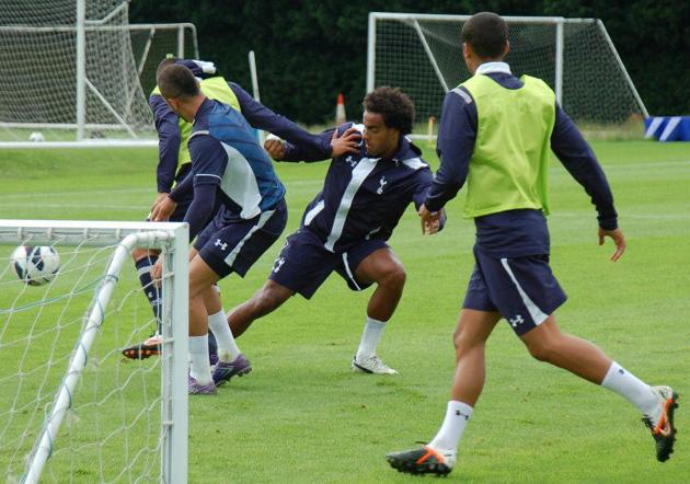 Первая тренировка Тоттенхэм Хотспур перед сезоном 2012/13