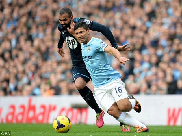 Манчестер Сити - Тоттенхэм Хотспур 6:0 АПЛ 2013 2014