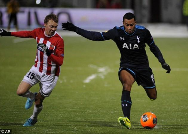 Мусса Дембеле установил окончательный счёт в матче Тромсё - Тоттенхэм 0:2