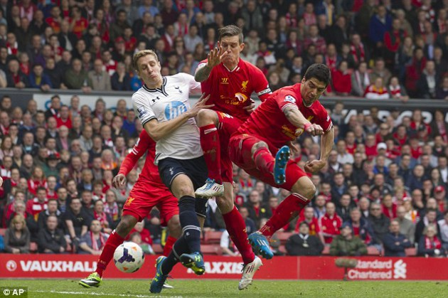 Ливерпуль - Тоттенхэм Хотспур 4:0 Английская Премьер Лига 2013/14