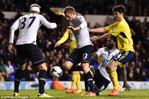 Гилфи Сигурдссон забил последний гол во встрече Тоттенхэм - Сандерленд 5:1