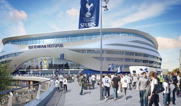 """Новый стадион """"Тоттенхэма"""" не будет готов к 2017-у году"""
