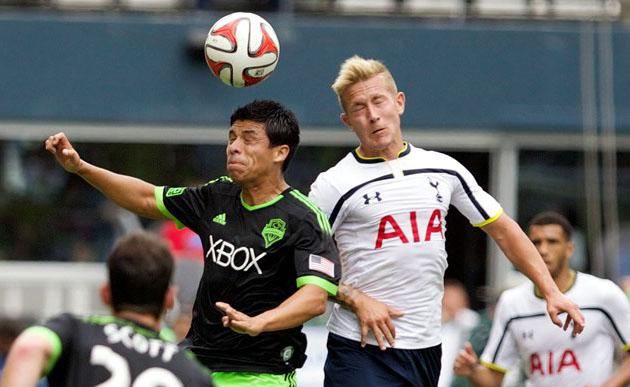 Льюис Холтби открыл счёт в товарищеском матче Сиэттл Саундерс - Тоттенхэм Хотспур 3:3