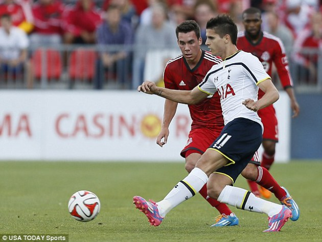 Эрик Ламела отметился дублем в товарищеском матче ФК Торонто - Тоттенхэм Хотспур 2:3