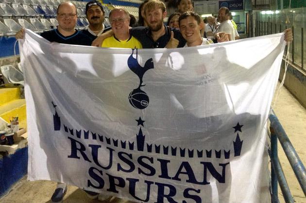 Russian Spurs на Кипре (Лига Европы 2014/15 АЕЛ - Тоттенхэм 1:2)
