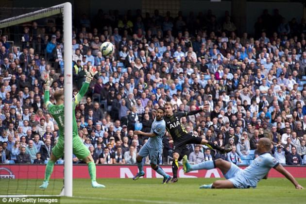 Манчестер Сити - Тоттенхэм Хотспур 4-1