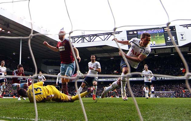 Харри Кэйн забил решающий гол на 5-й добавленной минуте матча Тоттенхэм - Вест Хэм 2:2