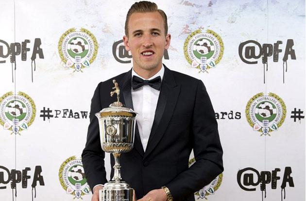 Харри Кэйн - Лучший Молодой Игрок Сезона 2014/15 по версии ПФА