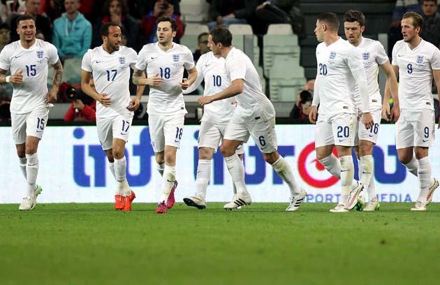 сборная Италии - сборная Англии 1:1