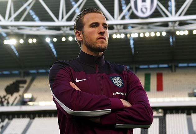 Харри Кэйн перед своим дебютом в стартовом составе сборной Англии