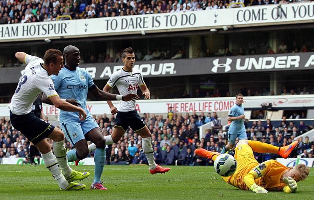 Харри Кэйн так и не смог забить в матче Тоттенхэм - Манчестер Сити 0-1