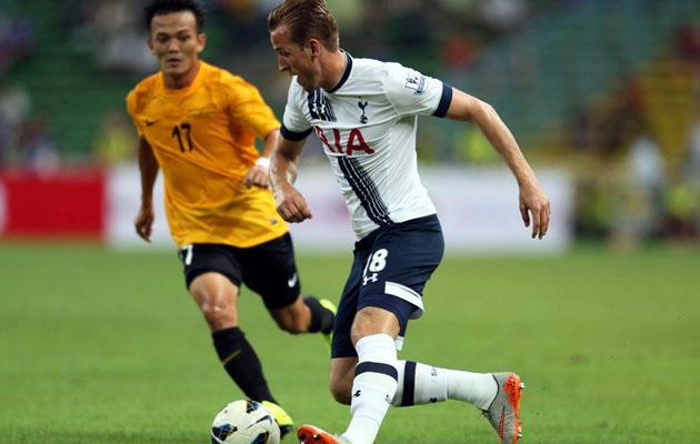 Харри Кэйн забил два гола в ворота сборной клубов Малайзии