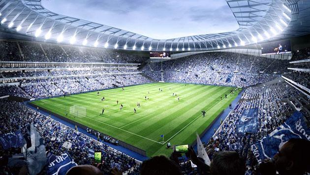 17-тысячная трибуна - новый рекорд среди всех английских стадионов