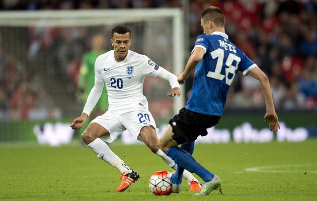 Деле Алли дебютировал в сборной Англии